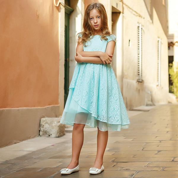 Платье из синтетических волокон на хлопковом подкладе Арт.204-0010