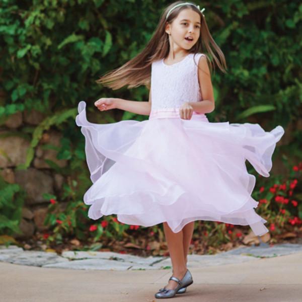 Платье из синтетических волокон на хлопковом подкладе Арт.204-0017